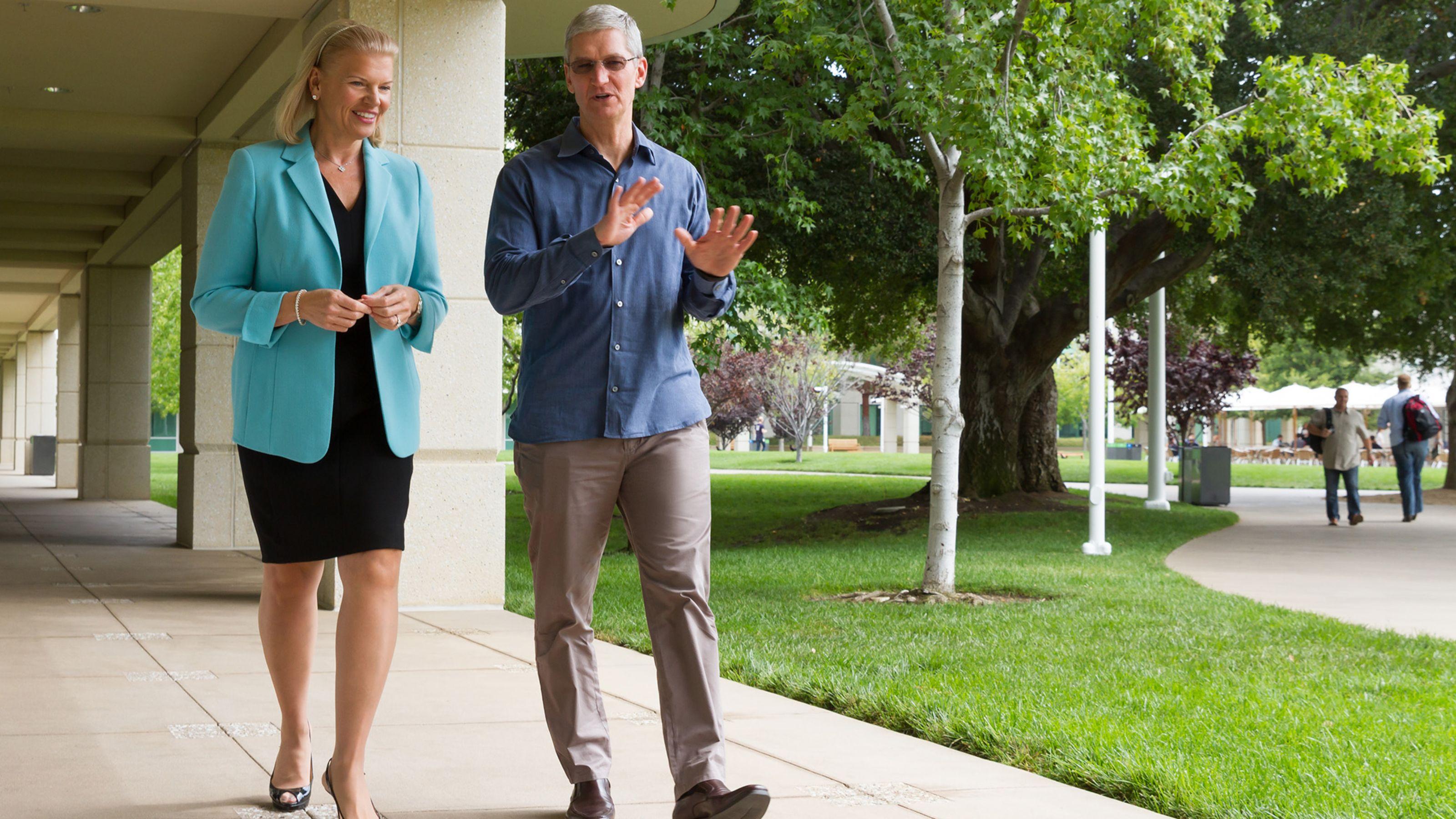 Rencana Baru Apple dan IBM Dalam Bisnis