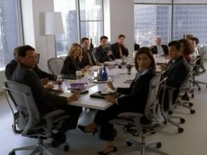 illustrasi. meeting room
