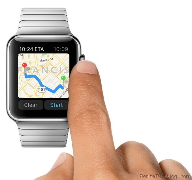 Apple Siapkan 1000 Aplikasi di Apple Watch