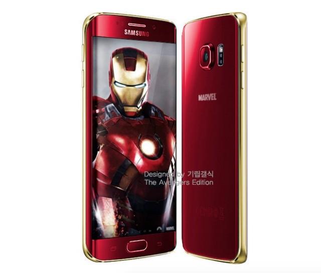 Samsung Bersiap Merilis Galaxy S6 dan S6 Edge Versi Iron Man