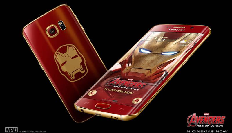 Ini Dia Penampakan Samsung Galaxy S6 Edge Versi Iron Man
