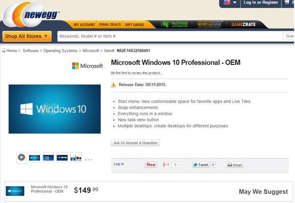 Sudah Siap Membeli Microsoft 10?Ini Bocoran Harganya