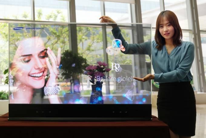 Samsung Luncurkan Monitor OLED Transparan Pertama Di Dunia