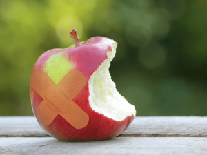 apple-terluka