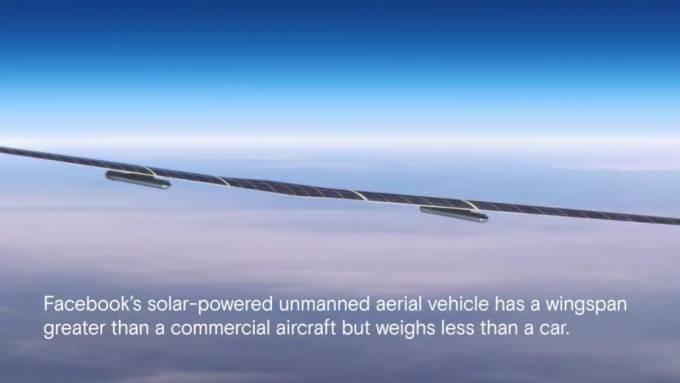 Facebook Dukung Akses Internet Ke Seluruh Dunia Dengan Pesawat Bertenaga Surya