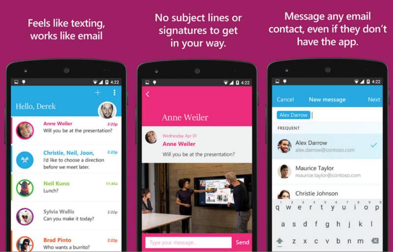 """""""SEND"""", Aplikasi Microsoft Untuk Pengguna Android"""