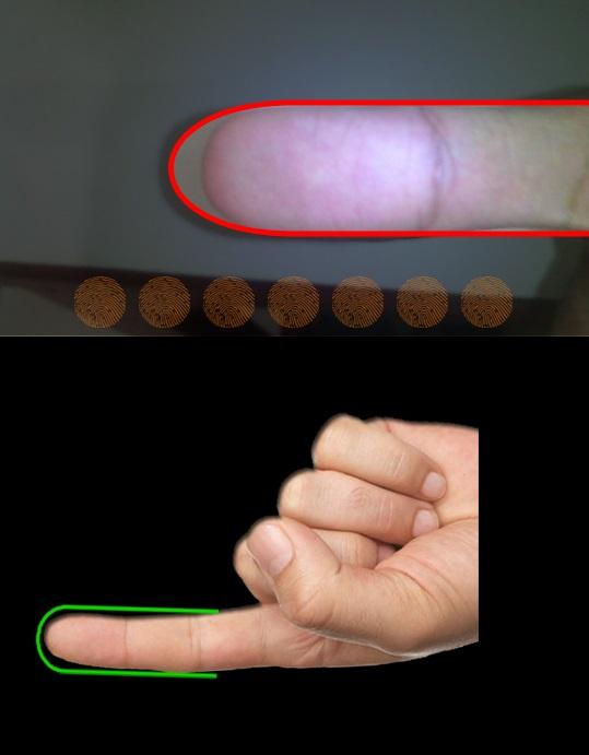 Fitur Fingerprint Dengan Menggunakan Kamera Smartphone