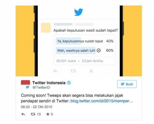 Twitter-Polls