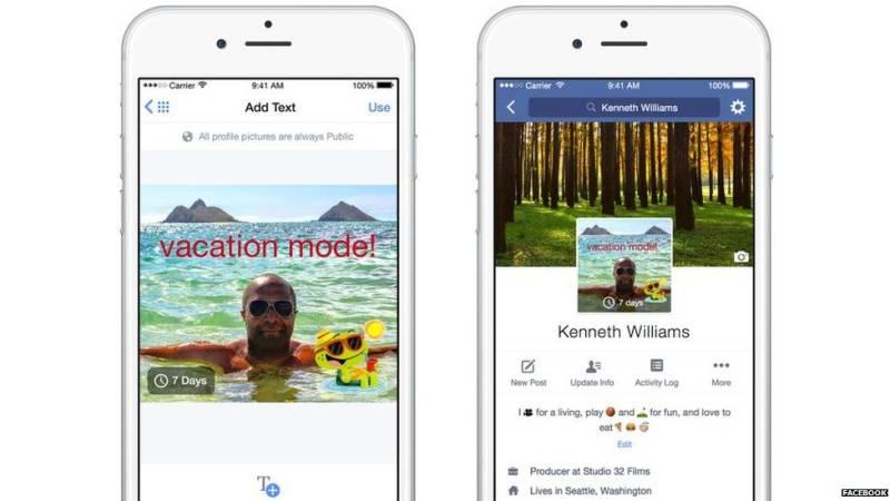 Facebook Siapkan Foto Profil Bergerak