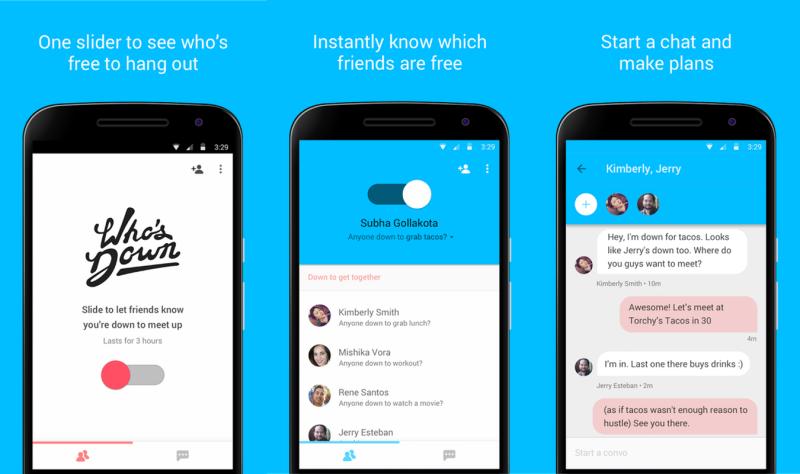 """Who's Down, Aplikasi Baru Untuk Mengetahui Siapa Teman yang Sedang """"Free"""""""""""